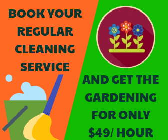 Book Regular Cleaning and get Gardening Services for $49 per hour