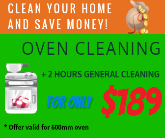 Oven + general cleaning offer