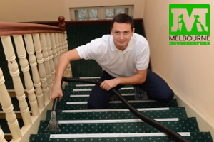 Licensed carpet cleaners from Melbourne Housekeepers
